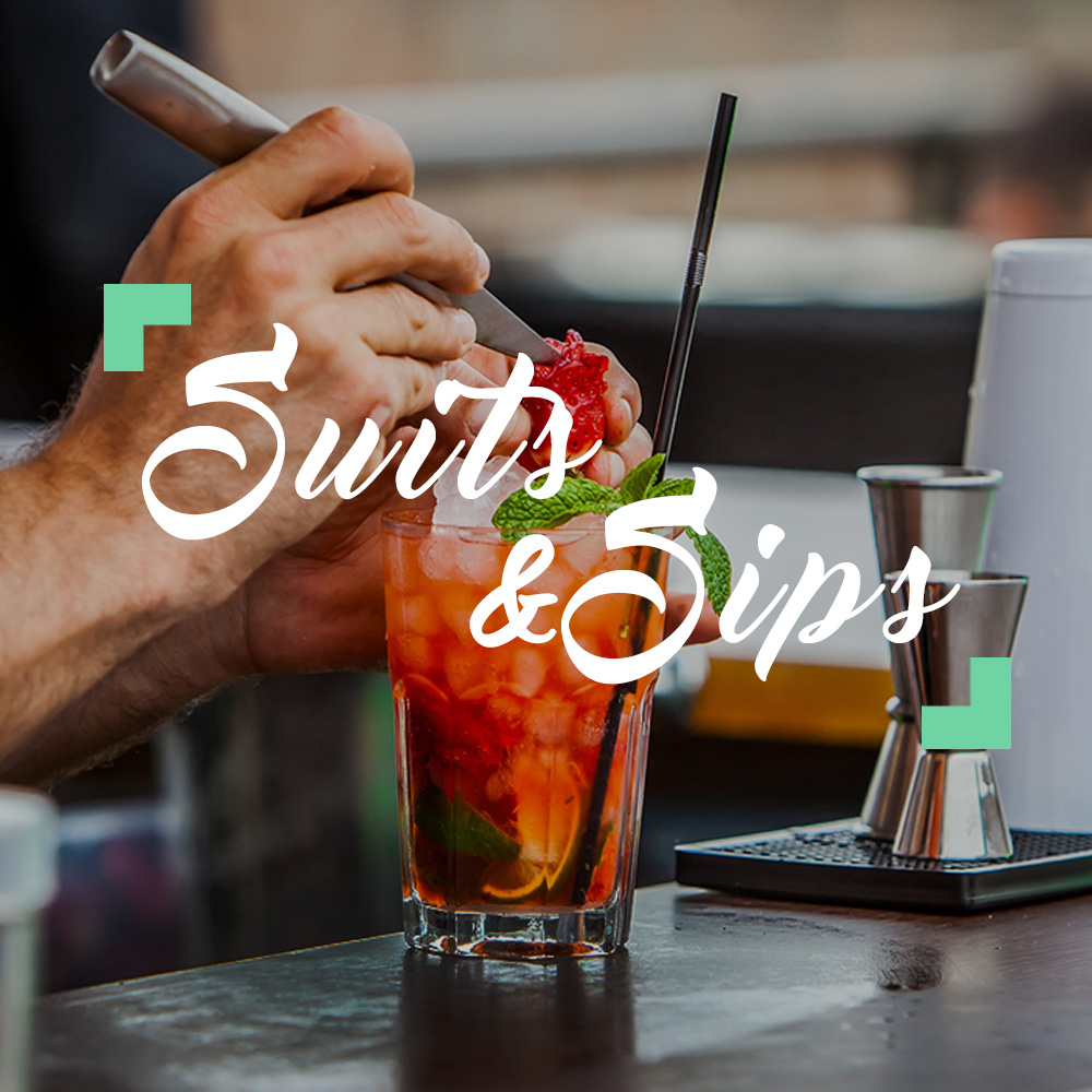 Suits & Sips Square