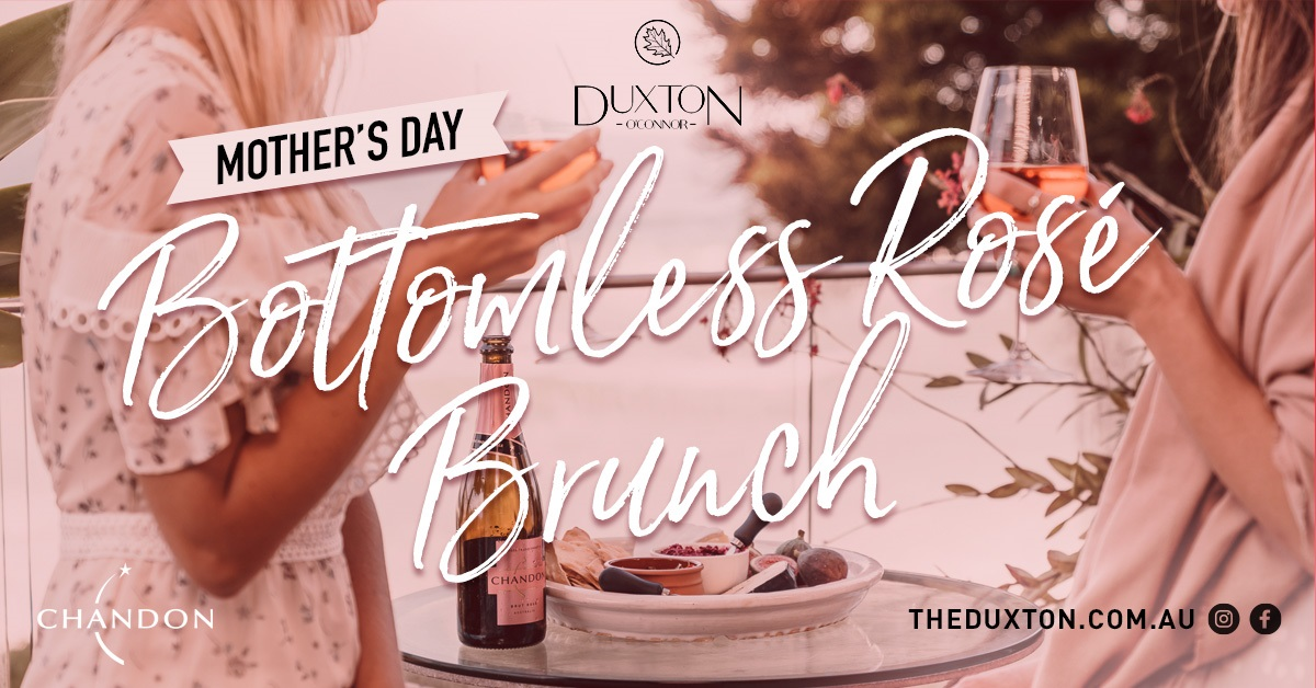 Mothers Day Bottomless Rosé Brunch Rectangle