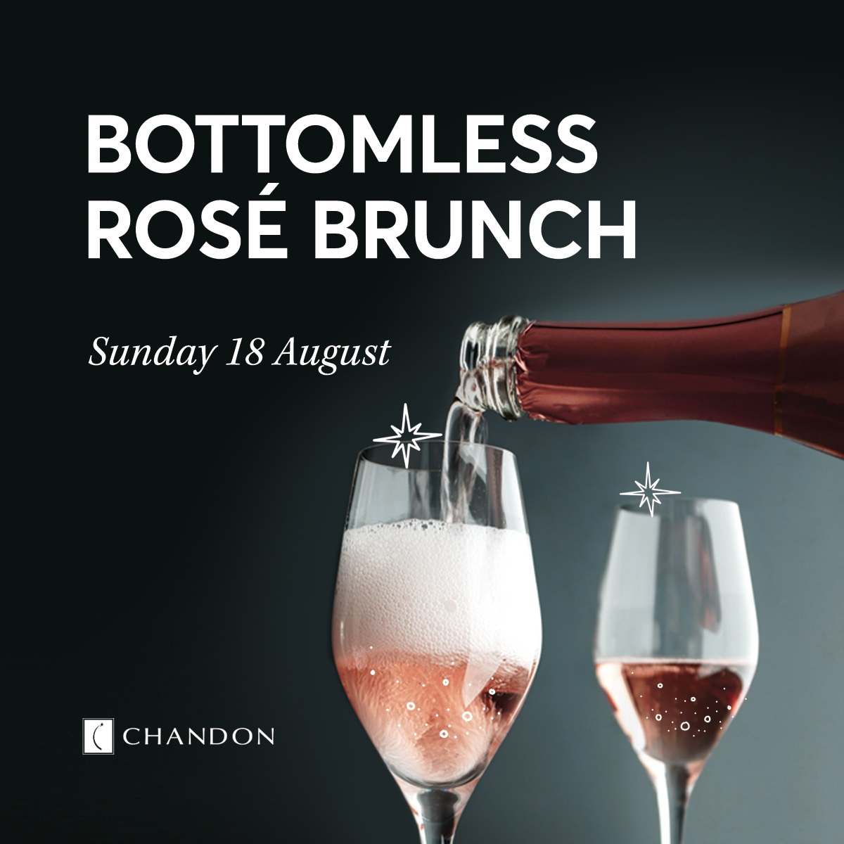 Bottomless Rosé Brunch Square
