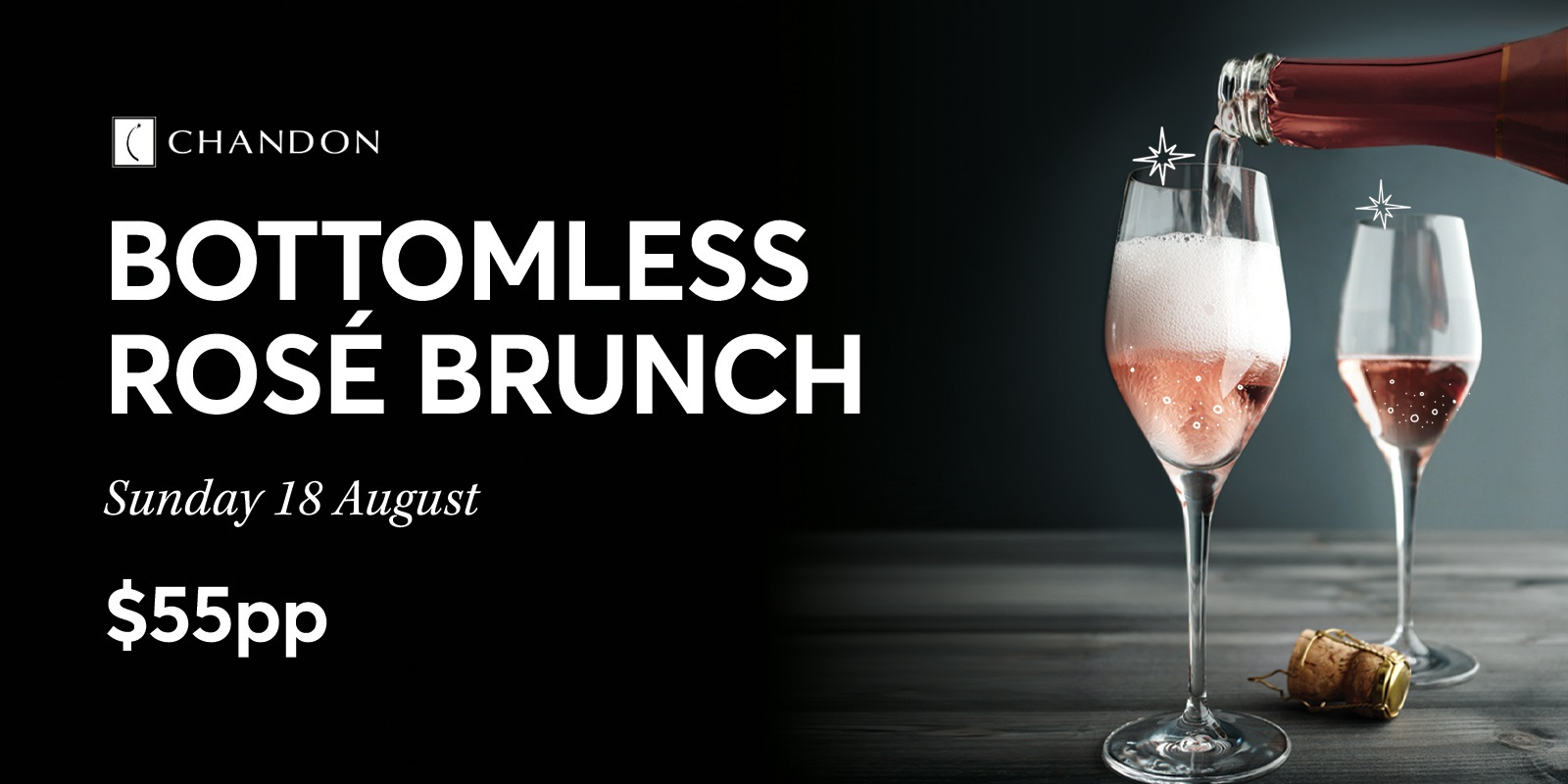 Bottomless Rosé Brunch Rectangle