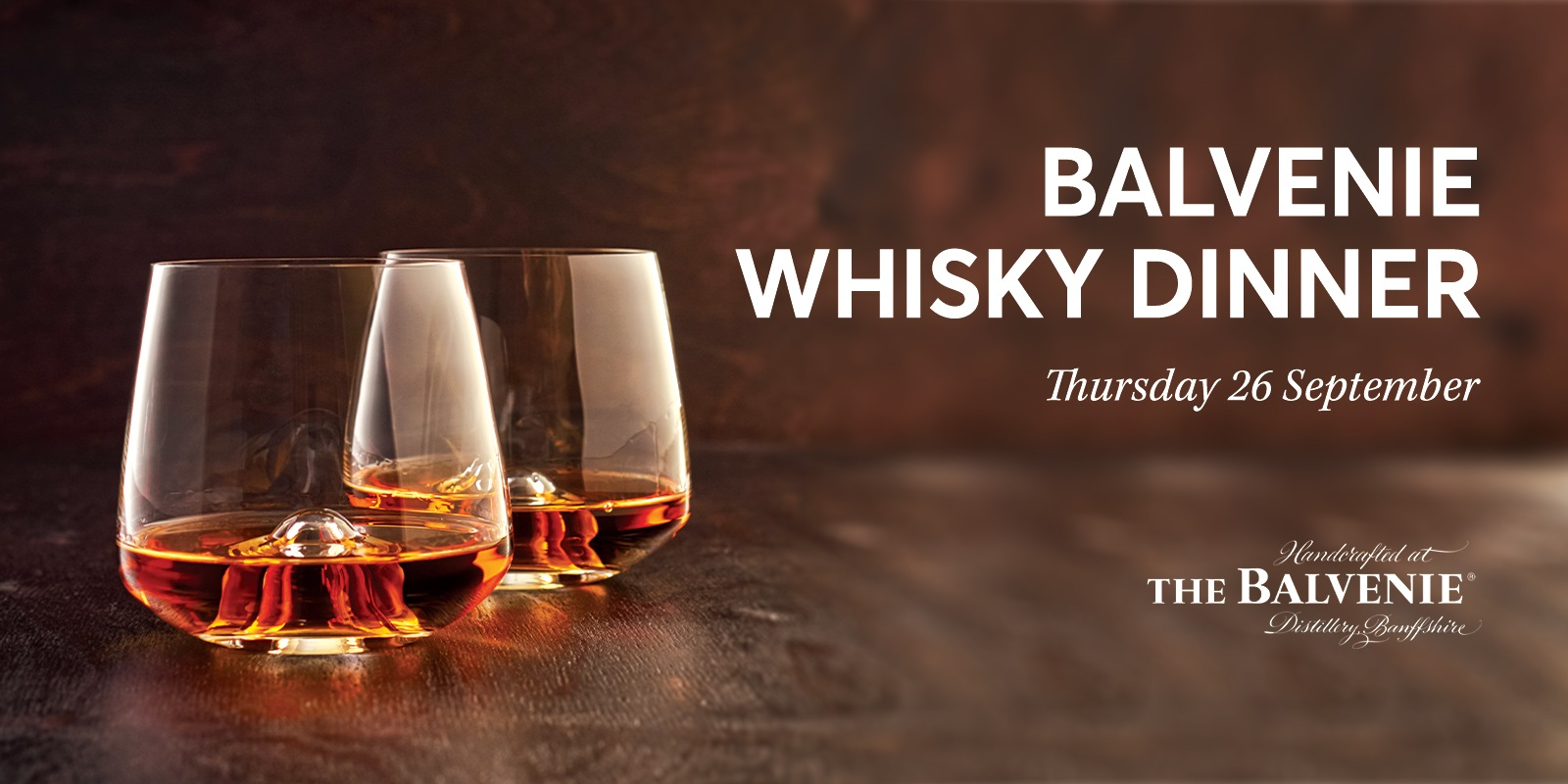 Balvenie Whisky Dinner Rectangle