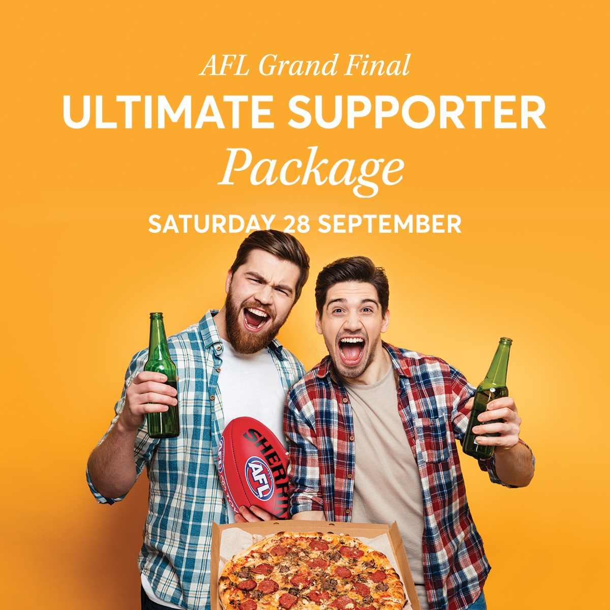 AFL Grand Final 'Supporters' Package Square