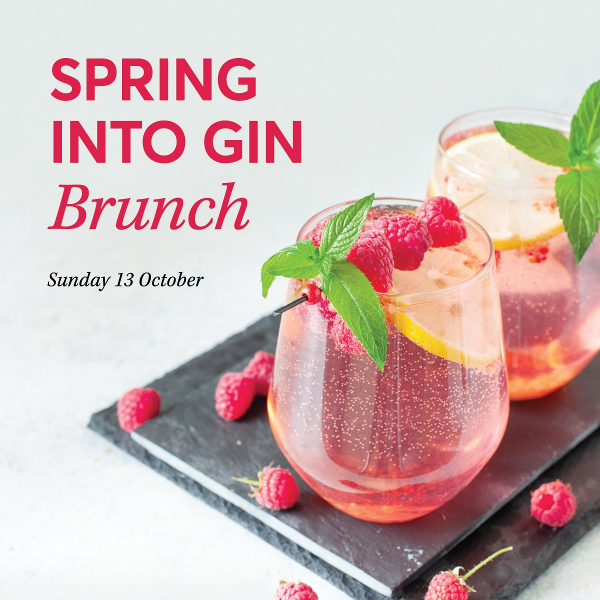 SPRING INTO GIN BRUNCH Square