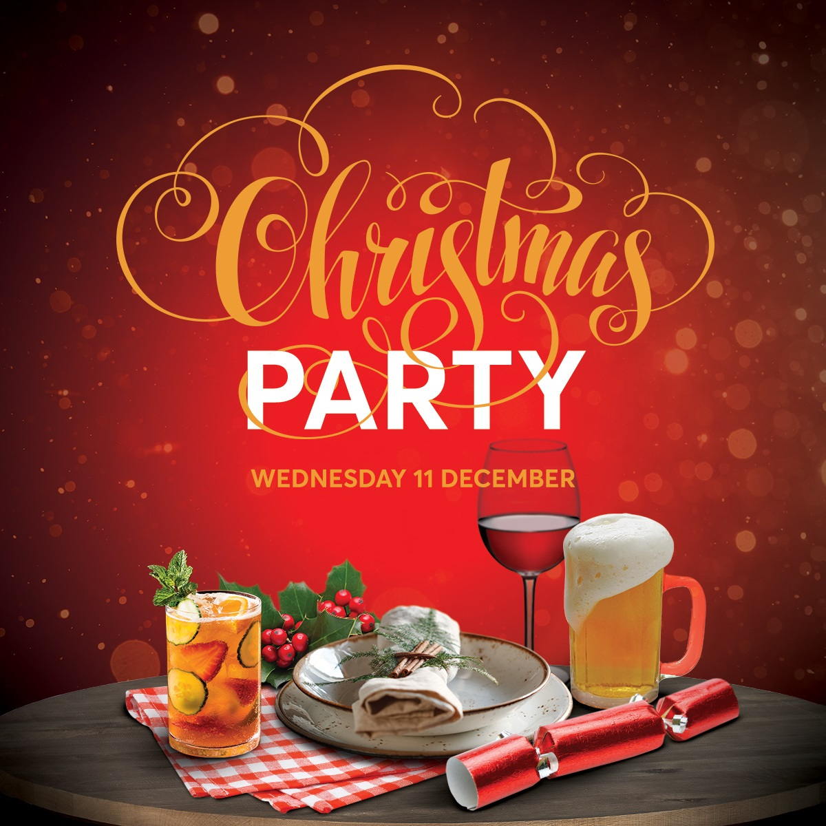 The Duxton Christmas Party Square