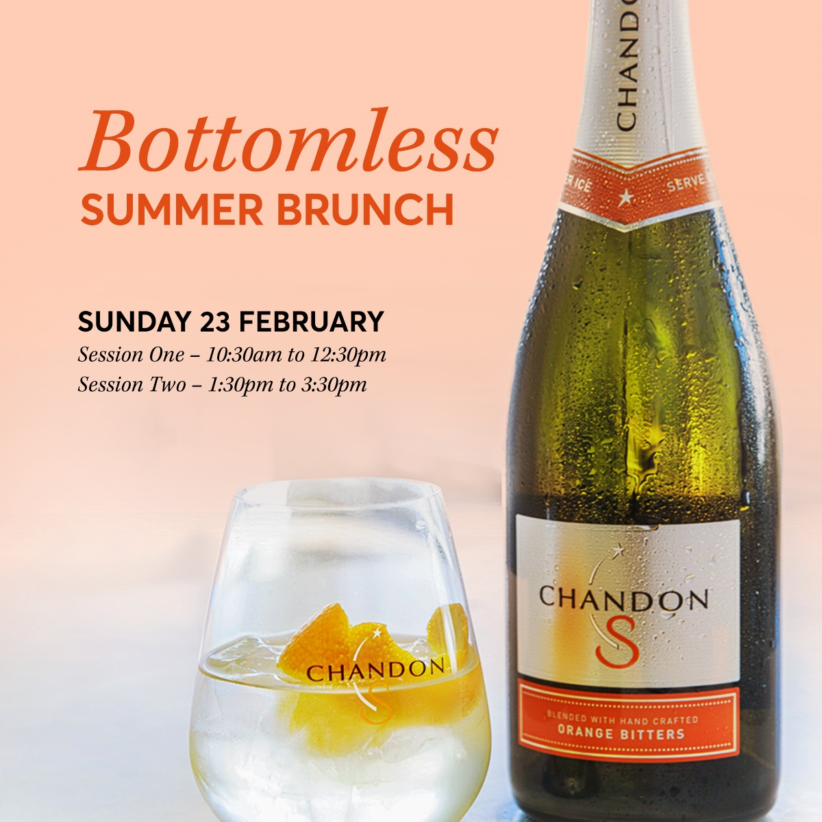 Bottomless 'Chandon S' Brunch Square