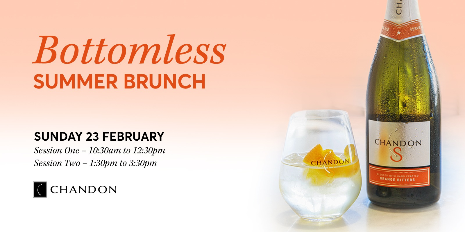 Bottomless 'Chandon S' Brunch Rectangle